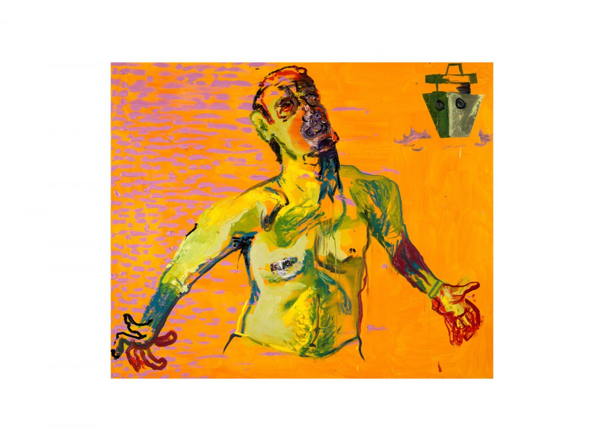Opere di Martin Kippenberger dal titolo Untitled (from the series The Raft of Medusa).