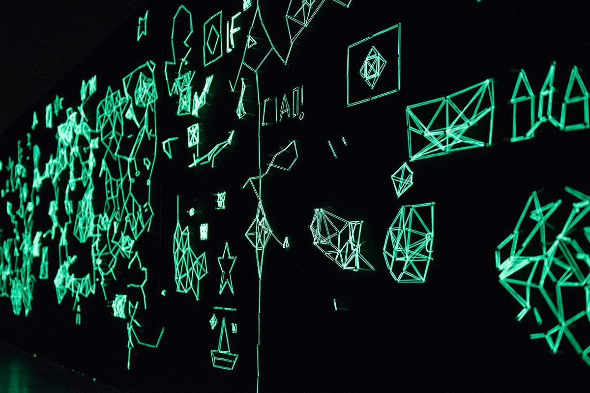 Light Drawings a Museion